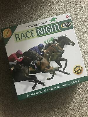 £8.99 • Buy Cheatwell Games – Host Your Own Race Night DVD Game Horse Racing • NEW Sealed •