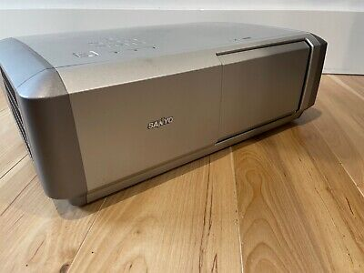 AU170 • Buy Sanyo PLV-Z4 Home Theatre Projector With Remote And Extra Lamp