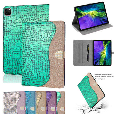 £12.42 • Buy Glitter Tablet Case For IPad 10.2 9th Gen Pro 11 2021 Flip Stand Card Slot Cover