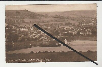£6.99 • Buy Frith Postcard - Stroud From Near Folly Lane - Gloucestershire - P/m 1917