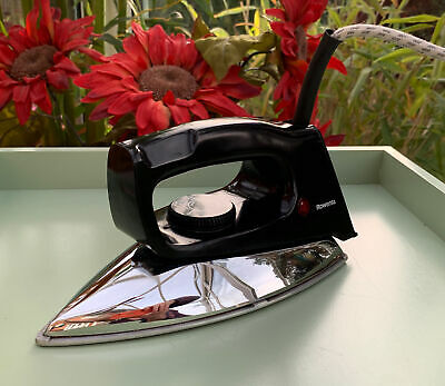 £29.99 • Buy Vintage Rowenta Dry Iron LA 58 Ideal For Crafting Very Good Condition.