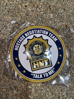 £6 • Buy New York State City Police Detective HNT Hostage Negotiation Team Patch NYPD