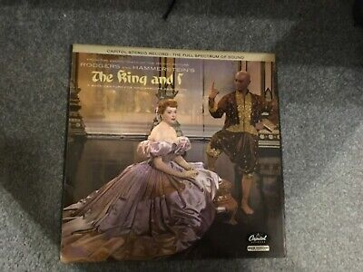 £1 • Buy Rodgers And Hammerstein's The King And I Soundtrack Vinyl LP