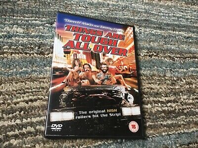 £7.49 • Buy Things Are Tough All Over - DVD - 1982 Cheech And Chong Marijuana Stoner Comedy
