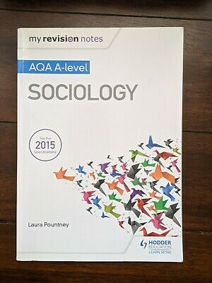 £12 • Buy My Revision Notes: AQA A-level Sociology Paperback – 27 Jan. 2017