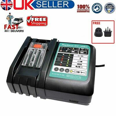 £22.99 • Buy For Makita DC18RC Replacement Fast Battery Charger 7.2V-18V BL1860 BL1845 BL1830