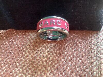 £25 • Buy Marc By Marc Jacobs Silver Ring In Pink, New Without Tags