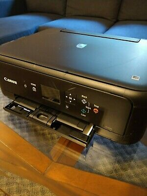 View Details Canon PIXMA TS5120 Wireless All-in-One Inkjet Printer - Black *USED* • 80$