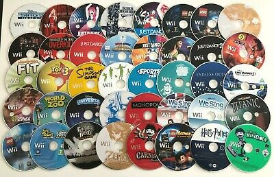 £3.97 • Buy Nintendo Wii Games - Disc Only - Choose A Game Or Bundle Up - Massive Selection