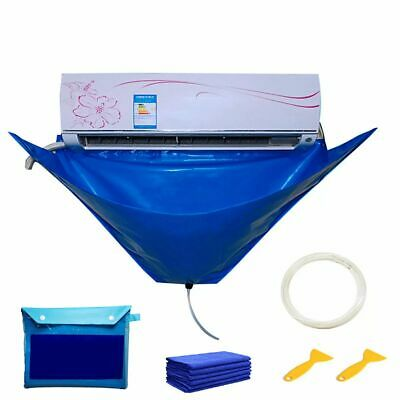 AU24.25 • Buy Cover Bag AC Cleaning Cover Dust Washing Bag Air Conditioner Cleaning Kit