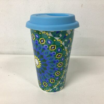 £5.44 • Buy Eco Cup Thermal Glaze Mug Travel Coffee Cup With Silicone Lid #129