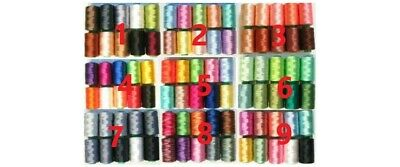 $14.95 • Buy Choose Machine Embroidery Thread For Brother Machine