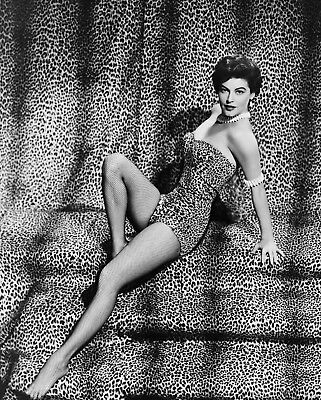 AVA GARDNER 8x10 PICTURE LEOPARD BATHING SUIT PHOTO • 9.08£