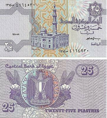 $4.99 • Buy 1998 Egypt 25 Piastres Uncirculated Egyptian Note