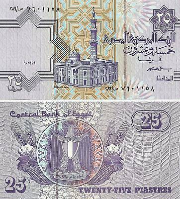 $4.99 • Buy 1999 Egypt 25 Piastres Uncirculated Egyptian Note