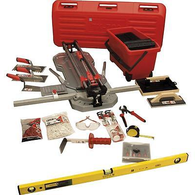 Rubi Tiling Tools Gold Kit 2 - TX-710 MAX Tile Cutter Set • 679.99£