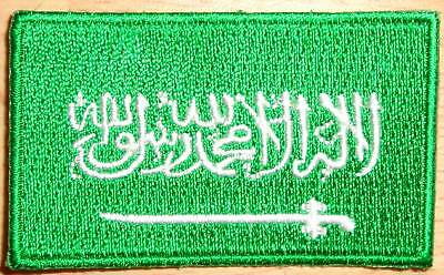 £2.75 • Buy SAUDI ARABIA Country Flag Embroidered PATCH