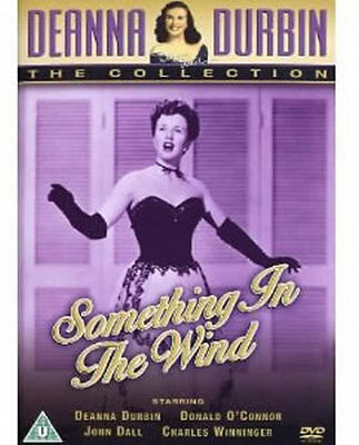 Deanna Durbin Something In The Wind DVD 1940s Film New • 9.95£