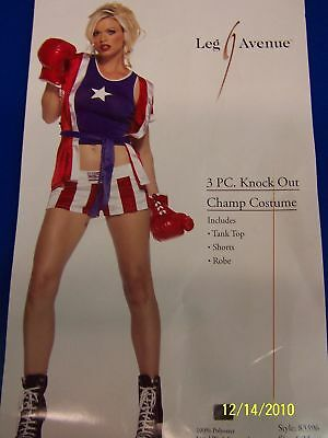 £35.39 • Buy Knock Out Champ Boxer Leg Avenue Sexy Adult Costume
