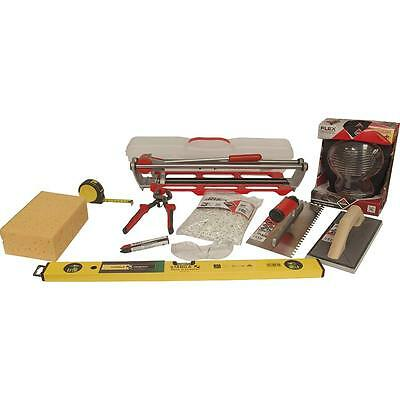 Beginners Tiling Tools Kit Inc Rubi Pocket Tile Cutter • 137.99£