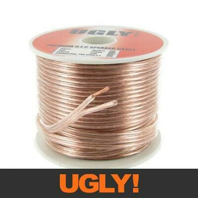 AU22 • Buy 25m 20AWG UGLY Speaker Cable OFC 20 Gauge AWG 28x0.15mm Strand