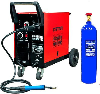 MIG WELDER SEALEY MIGHTYMIG 190 For Use With Or Without Gas GAS BOTTLE INCLUDED  • 521.09£