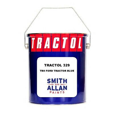 Ford Tractor Blue Tractor Paint Machinery Plant Enamel Tractol 5 Litre 5L • 56.50£