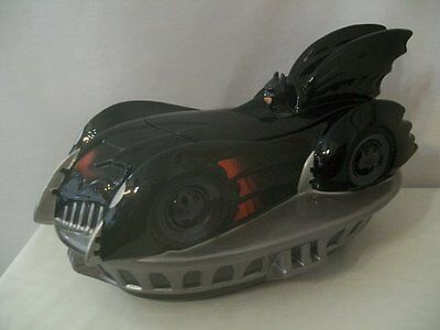 Warner Brothers DC Comics 1997 Batmobile Car Cookie Jar #D1287 • 54.26£