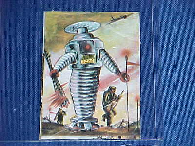 AU356.30 • Buy 1960's LOST IN SPACE TV ROBOT B9 ARMY SOLDIER FRONT LINE TRADING CARD RARE