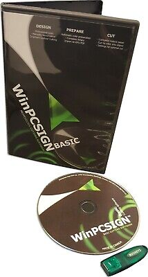 £39.70 • Buy Software Sign Making Cutting. WINPCSIGN Basic 2012. Cutters Drivers