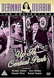Deanna Durbin Up In Central Park DVD 1940s Film New • 12.95£