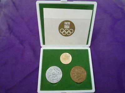 £723.99 • Buy Tokyo 1964 Olympic Participation Medal Coin Participant Gold, Silver, Bronze