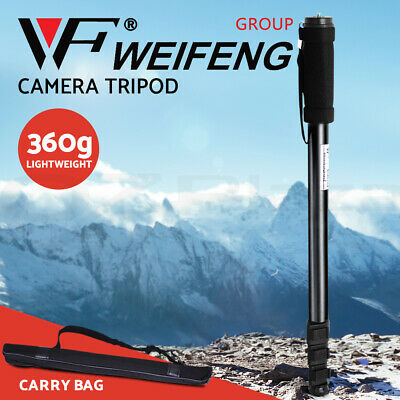 AU21.95 • Buy Weifeng Professional Camera Monopod Tripod Stand DSLR Ball Head Mount Flexible