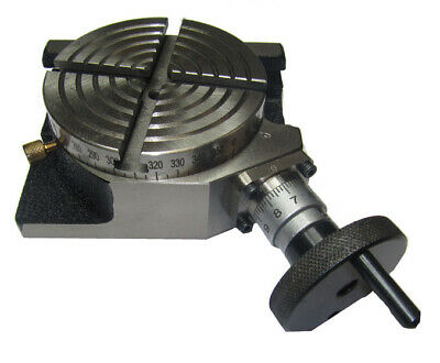 £65 • Buy Rdgtools 4  / 100mm 4 Slot Rotary Table Horizontal / Vertical Milling  New