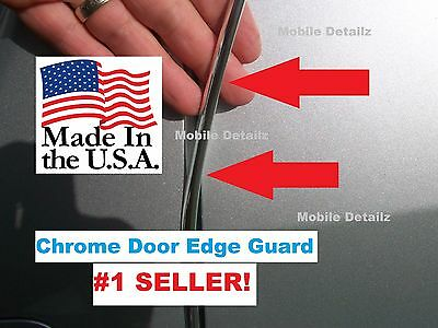 $17.99 • Buy Trim Molding (4 Door Kit) CHROME DOOR EDGE GUARDS  (fits): Toyota CAMRY AVALON