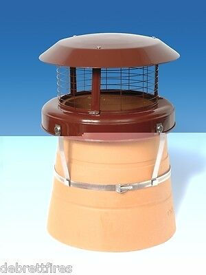 £43.95 • Buy Colt High Top Chimney Pot Cowl - Bird Guard - Solid Fuel Only - CT47