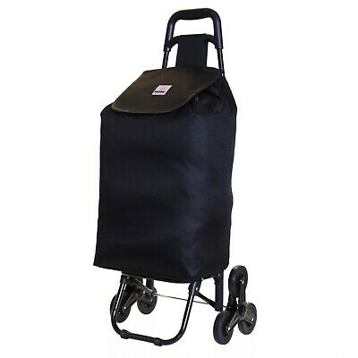 Large Lightweight Wheeled Shopping Trolley Push Cart Luggage Bag With Wheels New • 14.99£