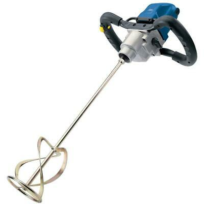 Draper Expert 1400w Twin Speed Plaster Electric Paddle Mixer 240v & Paddle,09558 • 89.95£