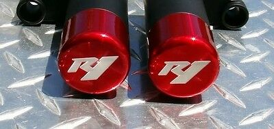 AU169.99 • Buy Yamaha 2009 - 2014  R1  NO-CUT 3D Frame Sliders CANDY RED  2013 2012 2011 2010