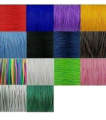 £1.99 • Buy 10m X Braided Nylon Knotting Thread 1.8mm Thick Knotted Bracelets Cord
