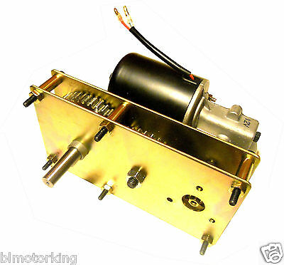 High Torque 12V DC 5RPM Conveyor And BBQ Rotisserie Smoker Gear Motor Reversible • 170$