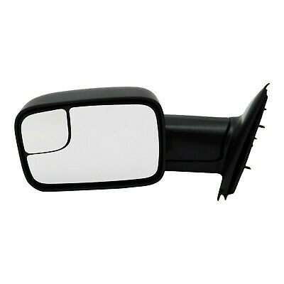 $57.82 • Buy Tow Mirror For 2002 2009 Dodge Ram 1500 Driver Side Manual Fold Blind Spot