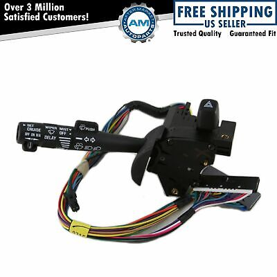 $61.48 • Buy Turn Signal Windshield Wiper Lever Switch W/ Cruise Control For Chevy Pontiac