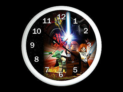 Lego Star Wars Wall Clock Can Be Personalised • 12.99£