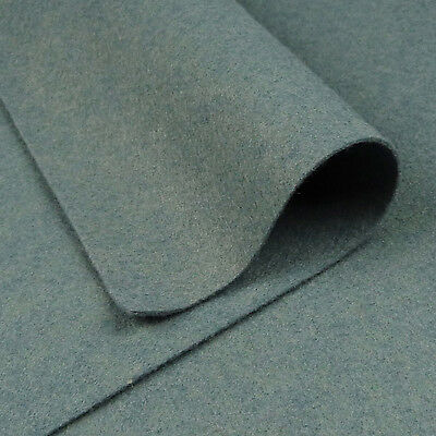 Woolfelt Winter Sky ~ 22cm X 90cm / Quilting Wool Felt Fabric Blue Grey  • 3.25£