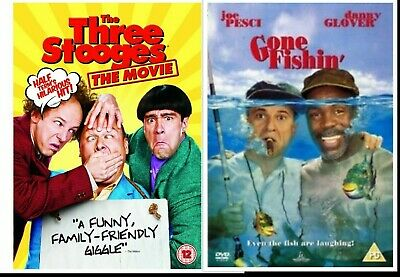 THE THREE STOOGES The Movie (2012) Dvd SEALED/NEW 3 Stooges Film  5039036055864 • 14.99£