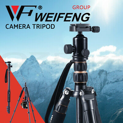AU66.95 • Buy Weifeng Professional Camera Tripod Monopod Stand DSLR Ball Head Mount Flexible