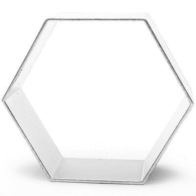Hexagon Shaped Cookie Cutter Bake Cook Baking Home Bakery • 3.03£