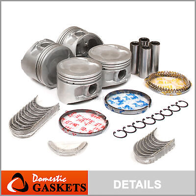 AU160.11 • Buy Fits 90-99 Toyota Celica Camry MR2 2.2L DOHC Pistons Bearings Ring Set 5SFE