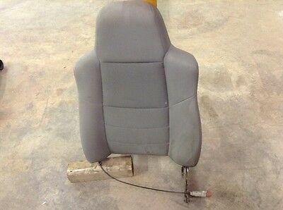 $160 • Buy 99 00 01 02 03 04 05 06 07 F250 F350 Grey Cloth Driver Front Seat Back